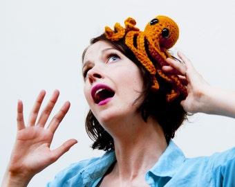 crochet octopus - soft merino yarn