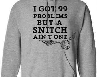 Harry Potter Inspired Quidditch Snitch Hoodie