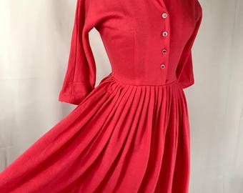 50s Stunning Jonathan Logan Dress 28' Waist