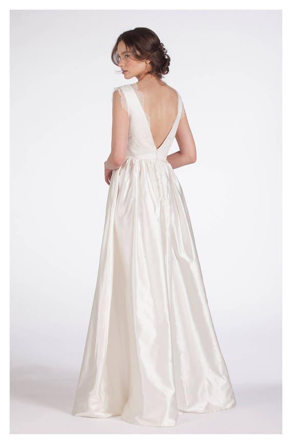 Boho Wedding Dress Bridal Dress Bohemian Clothing White