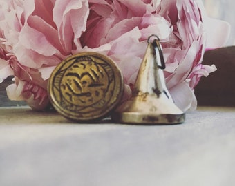 Beautiful persian silver charms