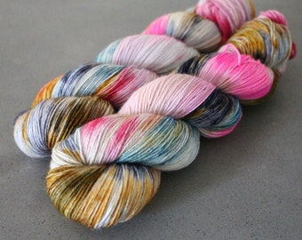 "Badger - ""Grand Budapest"" - BFL/ Nylon Sock Yarn"
