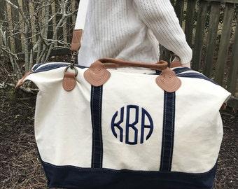Bridesmaid Weekender Bag - Personalized and Monogrammed