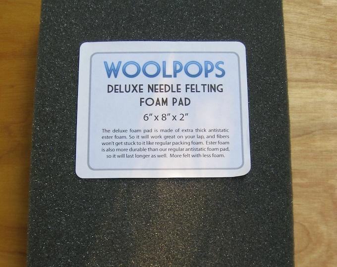 Woolpops Deluxe Antistatic Needle Felting Ester Foam Pad