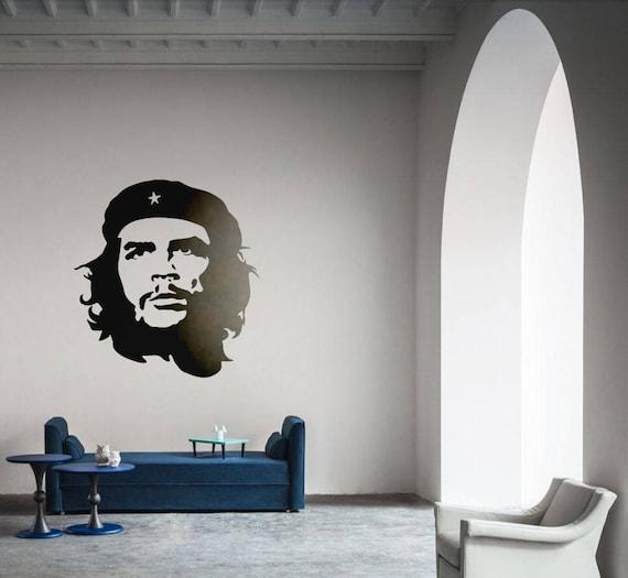Ernesto Guevara de la Serna Vinyl Decal / Sticker Silhouette, Wall decor for World History enthusiasts