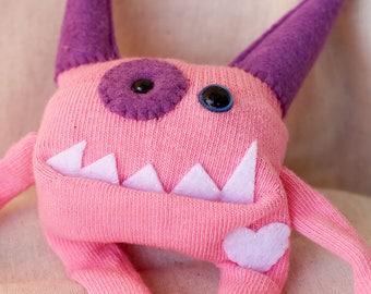 Sock Monster – Pinkle – Pocket Size