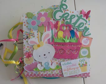 Easter Mini Chipboard Album