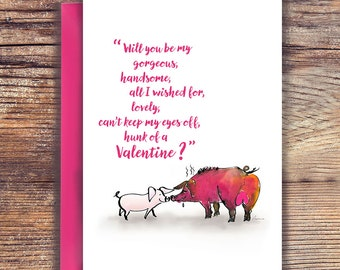 Will you be my, Valentine day, love card, Love card, Valentine gift, Valentine gift for him, Valentine card, Instant download Valentine card