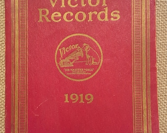 1919 Catalogue of Victor Records