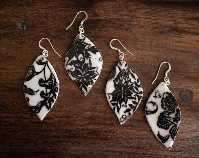 Flourish Leaf Earrings