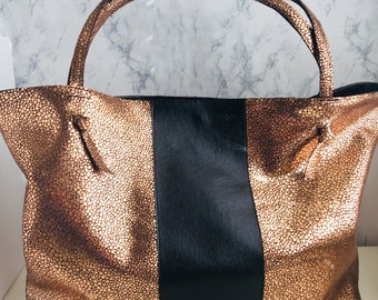 The Market Tote - Bronze Stingray