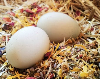 Herbs for Hens COOP CONFETTI® Chicken Herbal Aromatherapy 1LB 100% Natural Nest Box Mix Dried Mint Lavender RosePetals Chamomile Calendula
