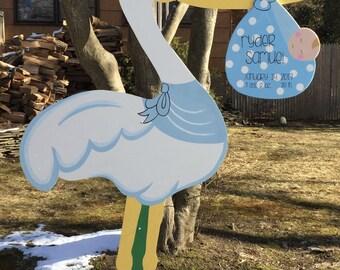 Baby Stork for Rent on Long Island, New York - Boy