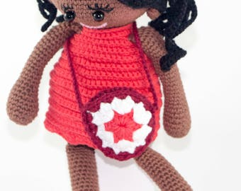 Susan - Crochet Doll