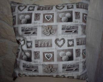 A love of natural shades pillow
