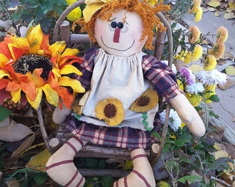 Fall Raggedy Doll