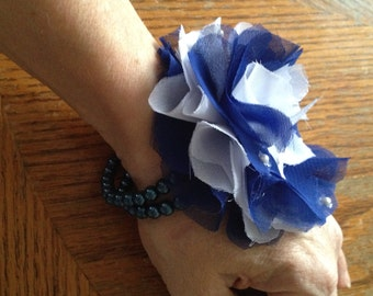Navy Blue Wedding Corsage Mother of Bride & Groom / Prom / Homecoming You will receive corsage pictured