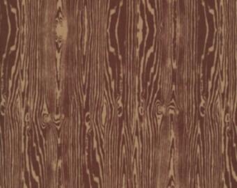Woodgrain  in Bark by Joel Dewberry AVIARY 2  Cotton Quilt Fabric 1 yard