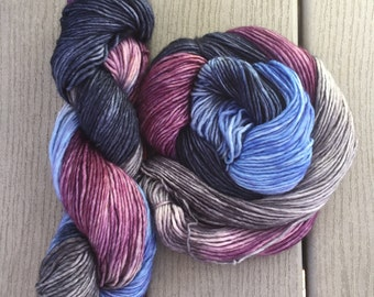 Come To Paris- Christopher and Lorelia on Husky, 240 yards of single ply DK weight merino, Gilmore Girls Theme