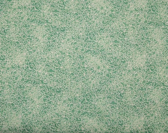 Quilting Treasures - Our Part for Heart - 1649-203669-G - Green Lace - 1 yard