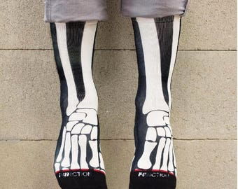 Function - Skeleton Bones Fashion Socks