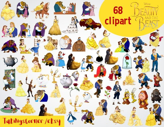68 beauty and the beast clipart beauty and the beast clipart rh etsystudio com Clip Art Beast Beauty and the Waredrobe Beauty and the Beast Mirror Clip Art