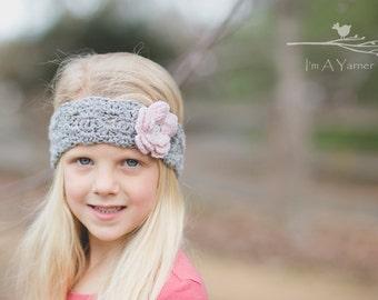 Baby Headband, Baby Girl Headband, Newborn Headband, Flower Girl Headband, Flower Headband, Infant Headband, Kids Fall, Winter Headband