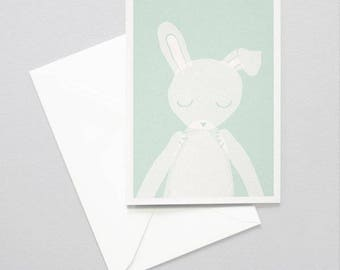 Greeting card - Bunny