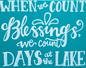 Lake Blessings
