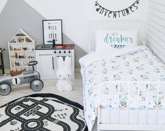 Twin Bedding, Twin Bedding Girl, Bedding Set, Duvet Cover, Kids Bedding, Twin Duvet Cover, Twin Bedding Set, Toddler Duvet Cover, Twin Duvet