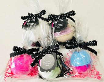 Personalized Bridal/Baby Shower Bath Bomb Favors