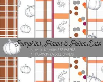 Pumpkins, Plaids, and Polka Dots