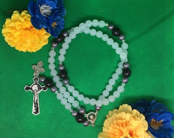 Rosary with Benedict Cross