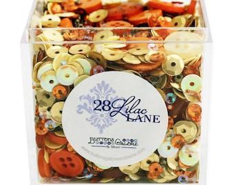 Buttons Galore & More 28 Lilac Lane Shaker Mix - Safari Sunrise
