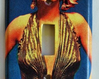 Marilyn Monroe single light switch plate cover.