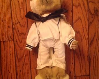 Brass Button Bears 1940's Casey Pickford Bears Ltd