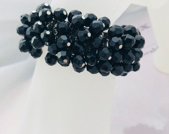 1960s Black Cha-Cha Bracelet