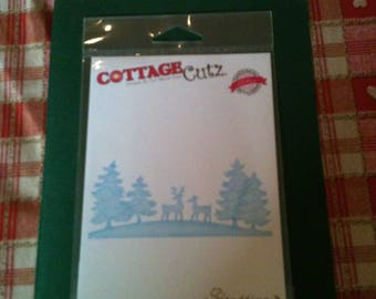 Cottage Cutz Snow Swept Border