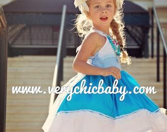 Elsa Costume, Frozen Elsa Costume, Elsa Dress, Elsa Costume, Frozen Birthday Costume,Ice Princess Elsa Dress  Vacation Princess Dress