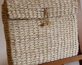 Organic Straw Corn Clutch, Eco Friendly Handbag,Beach Handbag, Beach Clutch, Vintage Purse, Wedding Gift