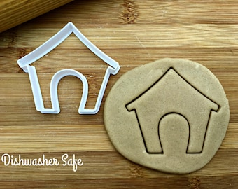 Dog House Cookie Cutter/Multi-Size/Dishwasher Safe