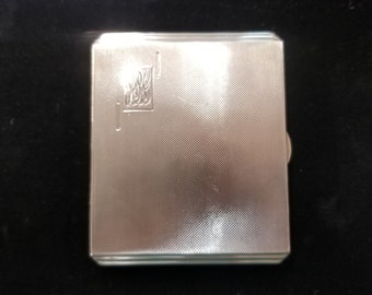 Sterling silver Chester Cigarette case