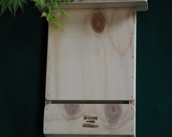Blitzenpet, 2 Wall Bat Box Against Mosquitos made in Italy 100%