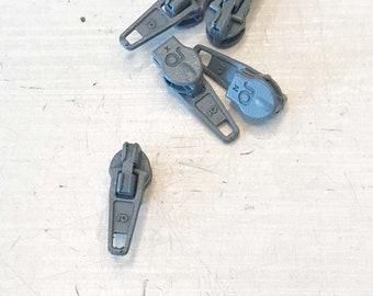 MiZa Zipper for endless zipper medium grey