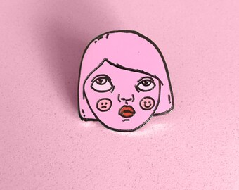 Ambivalent Hard enamel lapel pin