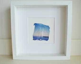 Polaroid Emulsion Lift - Shades Of Blue