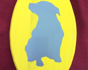 Dog Silouette Decor