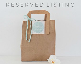 Reserved Listing for Mine
