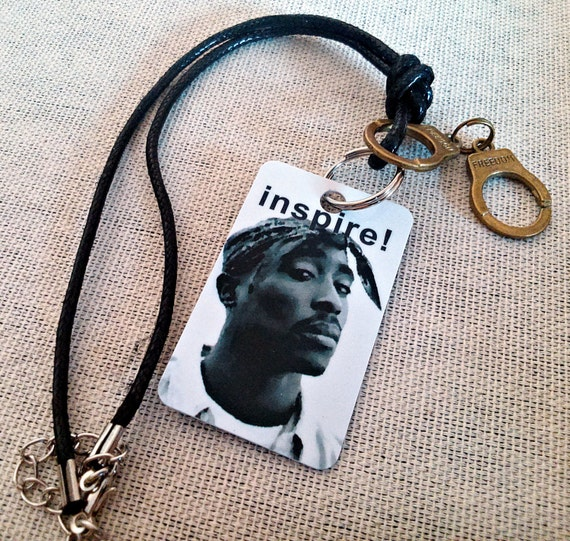 car rear view mirror charm accessory tupac rap