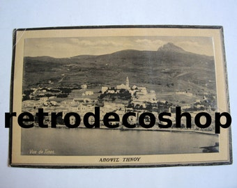 20's Tinos view, Aegean, Greece poster